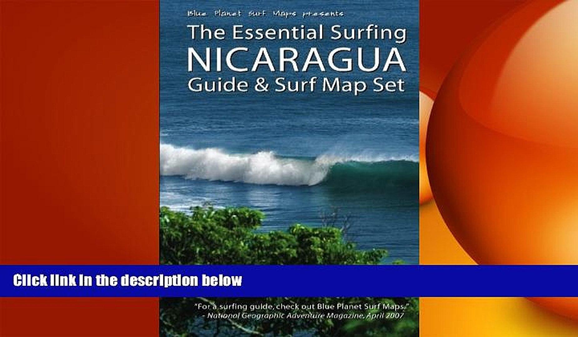 complete The Essential Surfing NICARAGUA Guide Surf Map Set on two brothers surf nicaragua, bella vista guasacate nicaragua, playa popoyo nicaragua, map of rancho santana, playas near gigante nicaragua, maps of only nicaragua, rancho santana nicaragua,