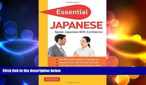 FREE PDF  Essential Japanese: Speak Japanese with Confidence! (Japanese Phrasebook   Dictionary)