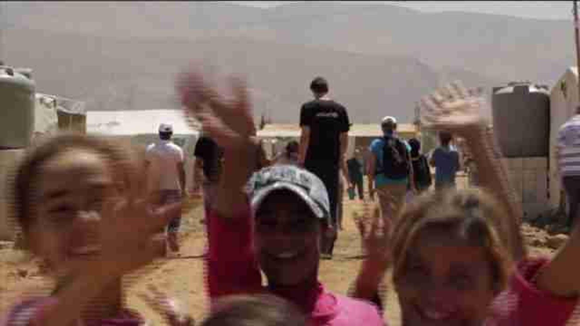 Pau Gasol visita campos de refugiados en Líbano y pide a lo Gobiernos sensibilidad