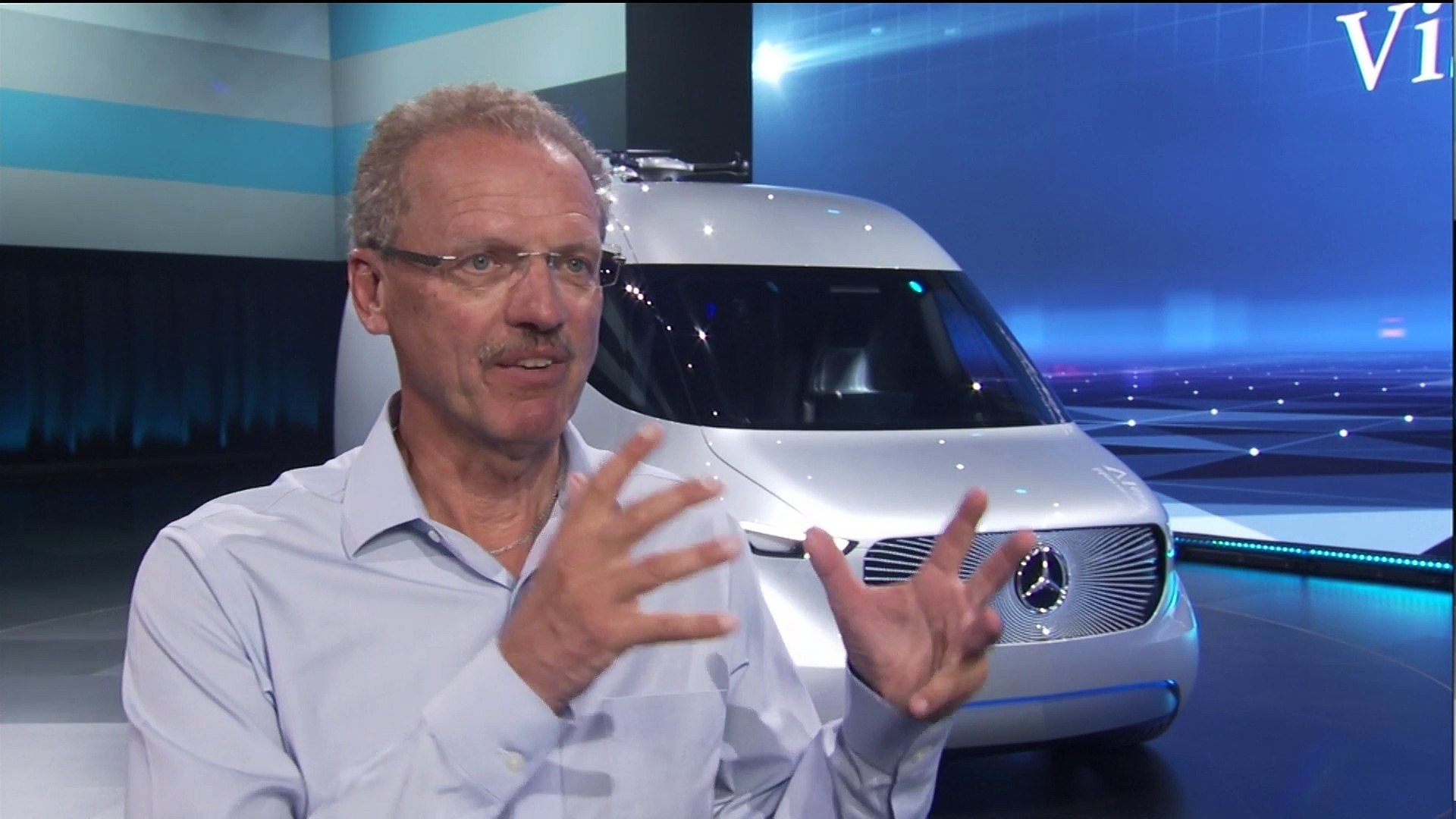Mercedes-Benz Reveal Vision Van - Volker Mornhinweg, Head of Mercedes-Benz Vans