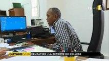 Reportage de ma nièce Alice pour 1ère Guyane Soir - Education, la réforme des collèges