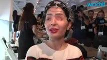 Acid Attack Survivor Walks NY Fashion Week