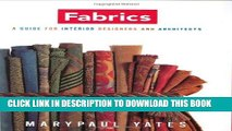 [PDF] Fabrics: A Guide for Interior Designers and Architects (Norton Professional Books for