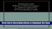 [Best] Medical microbiology laboratory procedures Free Books