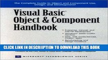 [PDF] Visual Basic Object and Component Handbook Full Online