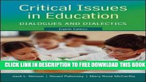Collection Book Critical Issues in Education: Dialogues and Dialectics