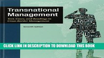 [PDF] Transnational Management: Text, Cases   Readings in Cross-Border Management Full Online