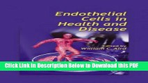 [PDF] Endothelial Cells in Health and Disease Full Online