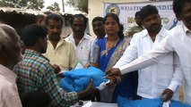 Mosquito bednets distribution at tarnka, Hyderabad