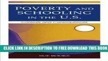 Collection Book Poverty and Schooling in the U.S.: Contexts and Consequences