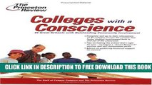 Collection Book Colleges with a Conscience: 81 Great Schools with Outstanding Community Involvement