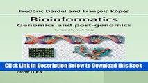 [Reads] Bioinformatics: Genomics and Post-Genomics Online Books