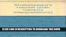 [PDF] Twentieth Century Interpretations of Hamlet: A Collection of Critical Essays (20th Century
