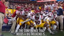 College football conference rankings Who needs to win this weekend Sports Videos
