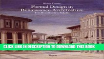 [PDF] Formal Design in Renaissance Architecture:  from Brunelleschi to Palladio Full Colection