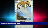 different   Costa Rica: Waterproof Travel Map of Costa Rica