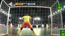 BEST GOALS IN PREMIER FUTSAL 2016 |  Ronaldinho |  Giggs |  Falcao |  Scholes |  Crespo