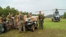 Envol avec l'armée de l'air en Guyane