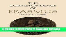 [PDF] The Correspondence of Erasmus: Letters 842-992 (1518-1519) (Collected Works of Erasmus) Full