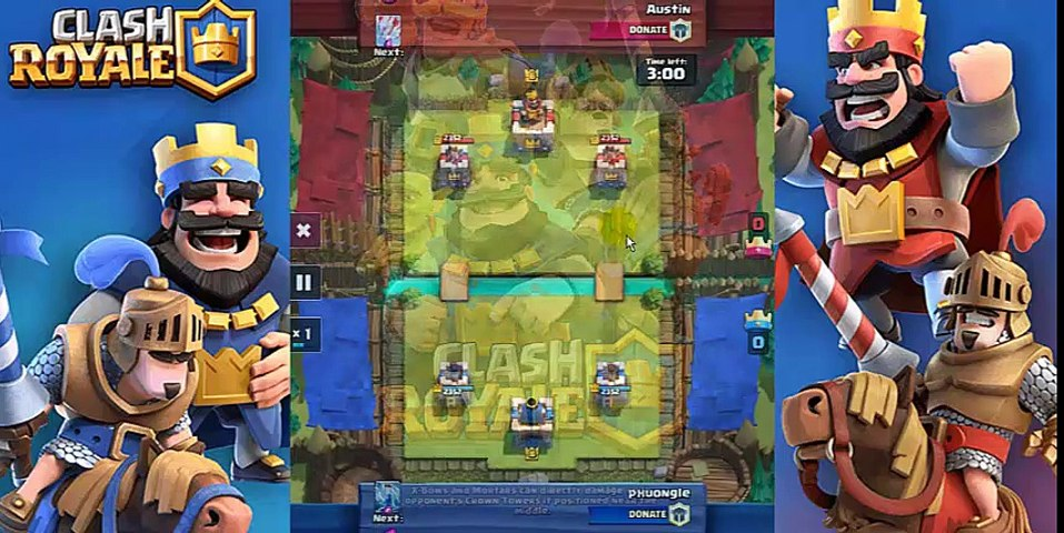[Clash Royale] The Hog Rider Deck that Helps me to Reach Arena 7