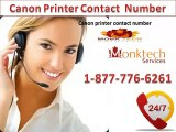 Effective Remedy through Canon printer Contact Number 1-877-776-6261