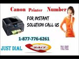 Canon printer Number 1-877-776-6261 Can Be Your One-Stop Shop