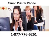 Obtain quick aid just by calling Canon printer Phone 1-877-776-6261