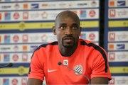 Souleymane Camara avant EAG vs MHSC (4ème journée L1)