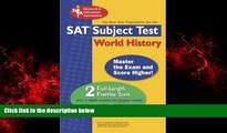 "Enjoyed Read SAT Subject Testâ""¢: World History (SAT PSAT ACT (College Admission) Prep)"