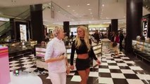 Britney Spears with Ellen and Britney Spears' Mall Mischief 2016