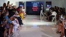Acid attack survivor models at New York Fashion Week
