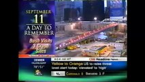 ARCHIVES: One Year After 9/11 (9/11/2002) Various News Networks