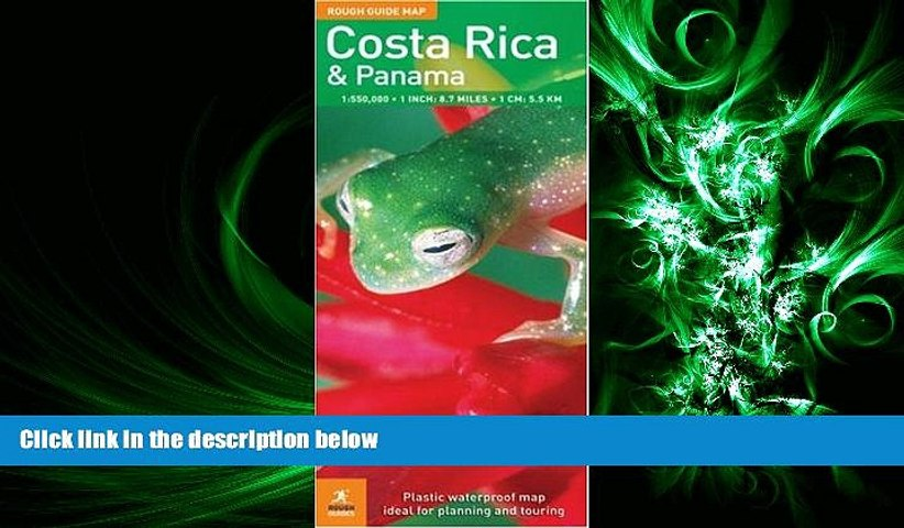 different The Rough Guide to Costa Rica Panama Map (Rough Guide Country/Region Map) | Godialy.com