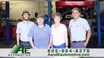 A & E Automotive | Auto & Brake Repair, Oil Change, Heating & Cooling Services | Santa Barbara, CA