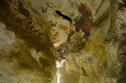 Visite en avant-première de Lascaux 4 pour Simon Coencas l'un des découvreurs-inventeurs de cette grotte