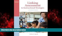 Popular Book Linking Assessment to Instructional Strategies: A Guide for Teachers