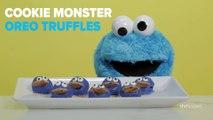 Cookie Monster Oreo Truffles