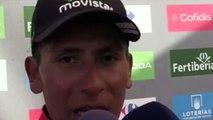 """La Vuelta - Nairo Quintana : """"Demain, ça va être la guerre avec Chris Froome et Alberto Contador"""