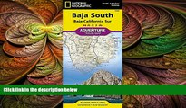 different   Baja South: Baja California Sur [Mexico] (National Geographic Adventure Map)