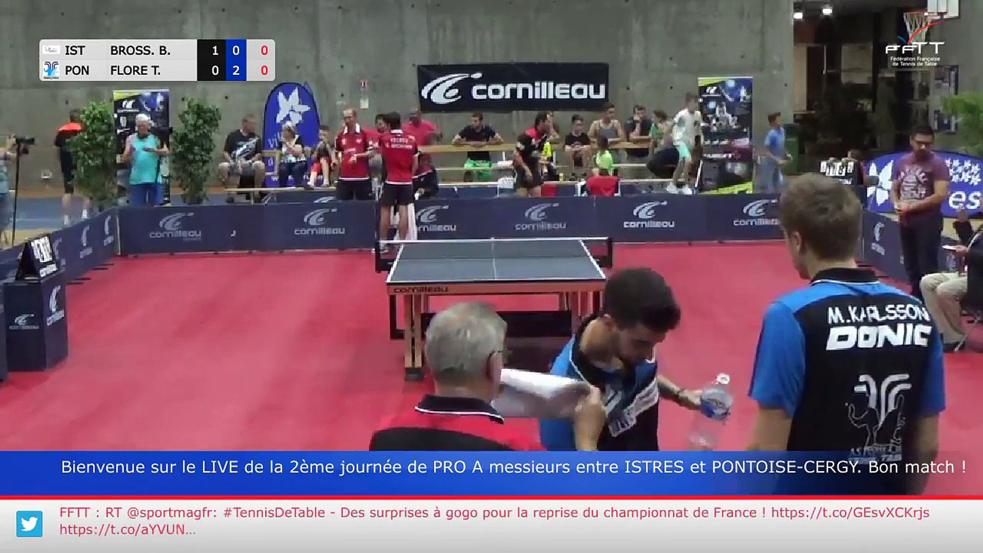 Replay Pro A J2 Istres Pontoise Cergy Video Dailymotion