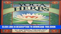 Collection Book The Yoga of Herbs: An Ayurvedic Guide to Herbal Medicine
