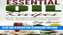 Collection Book Essential Oil Recipes: Top Essential Oil Recipes for Weight Loss, Beauty,