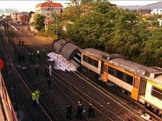 Un train déraille en Espagne: 4 morts dont un Portugais et un Américain