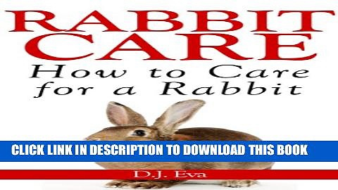 [PDF] Rabbit Care: How to Care for Rabbits Popular Colection