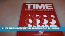 New Book Time Management for Health Care Professionals
