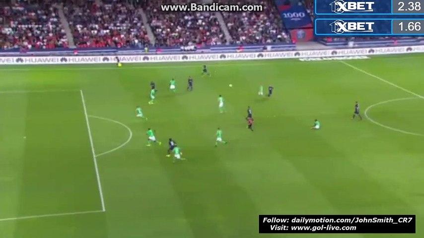 Lucas Moura Goal HD - Paris Saint-Germain 1-0 Saint-Étienne - France - Ligue 1 09.09.2016 HD | Godialy.com