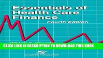 Collection Book Essentials of Health Care Finance