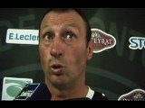 SITE OFFICIEL STADE MONTOIS RUGBY - INTERVIEW C. LAUSSUCQ - STADE MONTOIS vs BOURGOIN