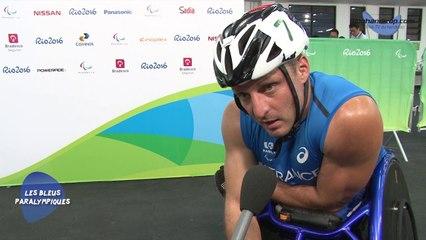 Julien Casoli - Série du 5000m T54 - 5ème - Jeux Paralympique Rio2016
