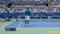 Novak Djokovic vs Gael Monfils Highlights - US Open 2016 SF